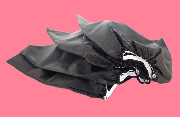 Комплект мешочков для вытяжки-пылесоса (черные, многоразовые)
