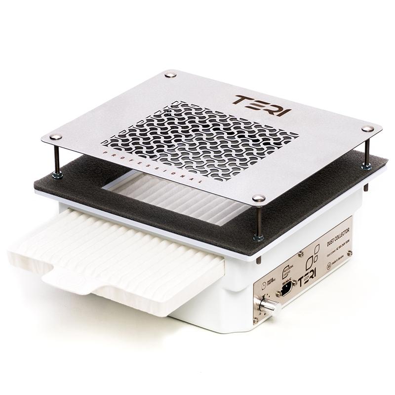 Встраиваемая маникюрная вытяжка Teri 600 с НЕРА фильтром