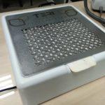 Профессиональная настольная маникюрная вытяжка Teri Turbo M белая с HEPA фильтром