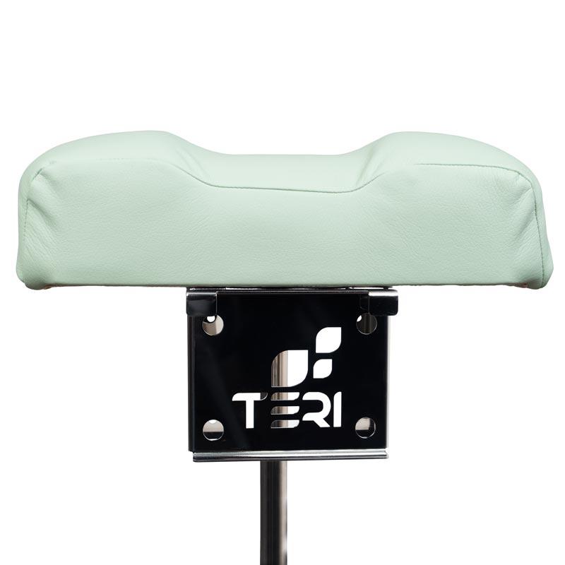 Подставка для педикюра с мягкой подушкой и крепление для настольной вытяжки Тери