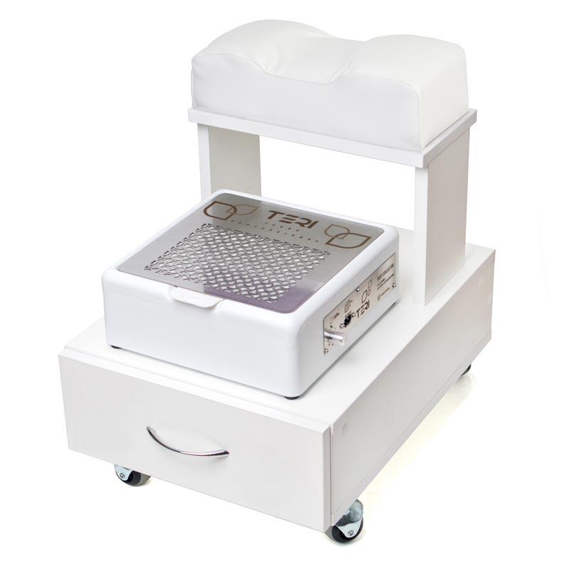 Педикюрная тележка с выдвижным ящиком