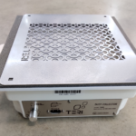 Профессиональная встраиваемая маникюрная вытяжка Teri Turbo с HEPA фильтром (нержавеющая сетка)