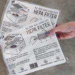 HEPA фильтр для настольной маникюрной вытяжки Teri 600 M / Turbo M